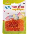 100 coprinumero magnetici arancio