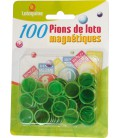 100 coprinumero magnetici verde