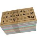 Pack 96 cartelle multicolori 1 mm
