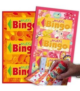 Biglietti Maxi-Bingo - 2 colori disponibili