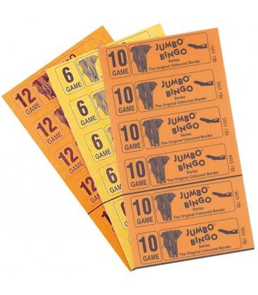Blocchi multicolori di 6 biglietti