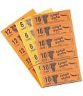 750 Blocchi multicolori da 6 biglietti