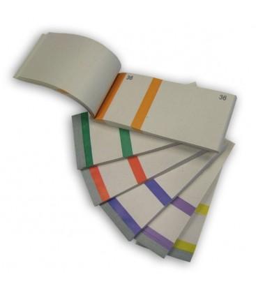Blocchetto da 100 numeri - 6 colori disponibili