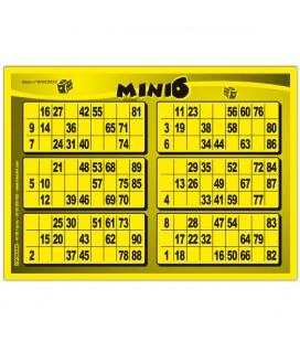 168 fogli di Mini 6