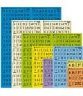 Serie da 1000 cartelle di Tombola in lastre -Colori-