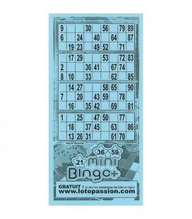 252 fogli di Mini Bingo +