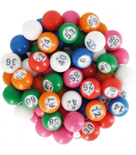 Palline multicolore Ø 22 mm
