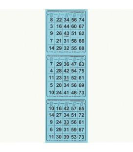 336 fogli di biglietti da Bingo americano/3