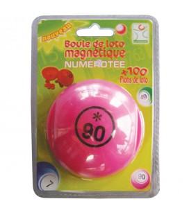 Pallina numerata con 100 coprinumero magnetici